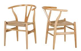 natural hans wegner replica wishbone chair temple u0026 webster