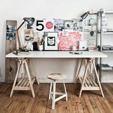 bureau recup créer un bureau atelier dans un petit espace idée créativeidée
