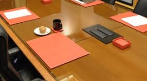 Leather Placemats For Conference Table Conference Room Accessories Conference Table Pads Page 1 The
