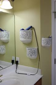 bathroom storage ideas for hair dryer home decor ideas