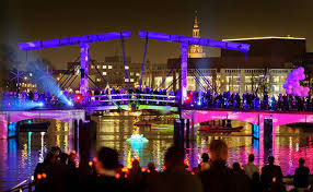 the lights fest ta 2017 amsterdam light festival 2017 2018 water colors illuminade
