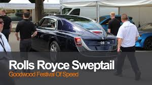 rolls royce sport 2017 rolls royce sweptail at the festival of speed 2017 goodwood the