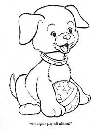 dog playing ball coloring pages dog breeders guide