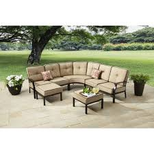 7 Seat Sectional Sofa by Better Homes And Gardens Carter Hills 7 Piece Outdoor Sectional