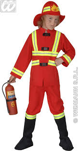 fireman costume fireman costume child f optic heavy fancy dress costume