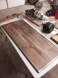 Iron And Wood Headboards Longleaf Lumber Diy Reclaimed Walnut Headboard