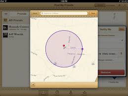 Draw A Radius On A Map Find My Friends Gains Customizable Geofences Tidbits