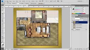 2012 photoshop plan rendering part b mp4 youtube