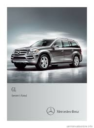 mercedes benz gl class 2012 x164 owner u0027s manual