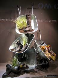spring window display ideas great way to promote upcoming garden show and highlight shoes and
