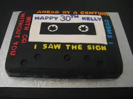 50 awesome u002790s themed cakes and cupcakes 50th cake and 90s party