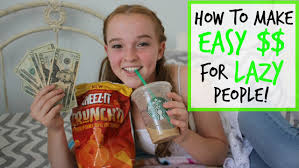 how to make easy money for lazy