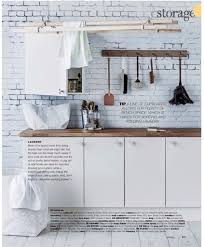 rebel walls well worn brick mural kitchen setting in real living