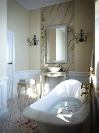 bathroom cool and nice bathroom ideas with clawfoot tub bathroom full size of bathroom exquisite small ideas with oval clawfoot tub fancy marble mirror backwall vessel