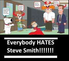 American Dad Meme - everybody hates steve smith cringeworthy know your meme