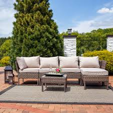 Patio Furniture Ideas Cool Wicker Sectional Patio Furniture Wicker Sectional Patio