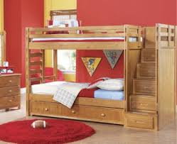 Creekside Taffy  Pc Twin Twin Step Bunk Bedroom  By Rooms To - Rooms to go bunk bed