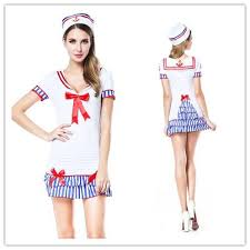 Maid Costumes Halloween Cosplay Sailor Costumes Women Maid Sailor Pin