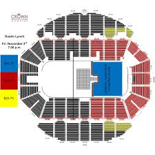 Pepsi Center Seating Map Dustin Lynch The Ride Or Die Tour Crown Complex