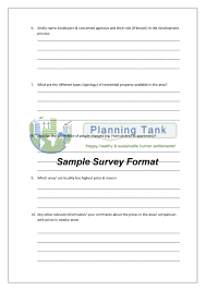 property dealer survey questionnaire editable sample 1