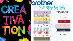 how to install brother p touch tape brother p touch embellish cha youtube