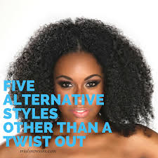 natural hair after five styles 5 alternative natural hair styles other than a twist out trials