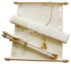 Exclusive Wedding Invitation Cards Muslim Wedding Cards Scrolls Invitations Wedding Invitation