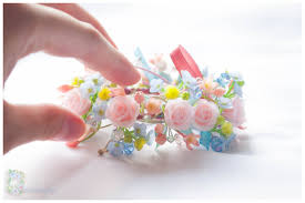 handmade flower bracelet images Rose bracelet pink bracelet floral rose flower bracelet light jpg