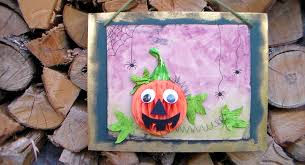 fall or halloween home decor craft for kids or you