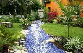 how to create a dry creek bed garden home design garden