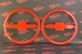 2014 orange camaro 2010 2014 chevrolet camaro billet door speaker covers bowtie logo