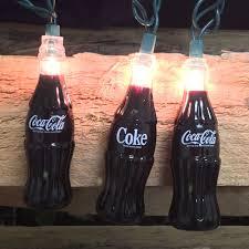 coke string lights coca cola bottles novelty party lights