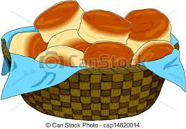 vector clip of bread basket csp14820014 search illustration