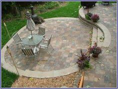 amazing landscape around patio place your patio into beauty