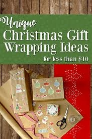 cheap gift wrap southern in unique gift wrapping ideas for christmas on a
