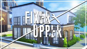 old salt house the sims 4 fixer upper home renovation youtube