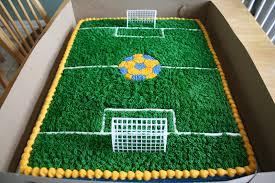 soccer cake ideas images of soccer field cake prezup for