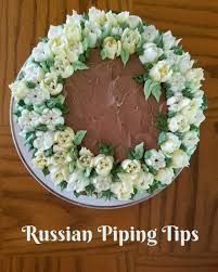 more cakes with russian piping tips coffee to compost