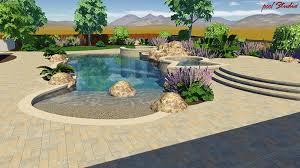 Pool Designs For Backyards Custom Pool Landscape Pool Design Spa Builder U2013 Pools By Design