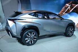 suv lexus 2014 lexus lf nx compact suv concept slices through detroit