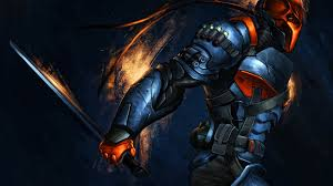 bat computer background deathstroke painting batman batman arkham origins wallpapers