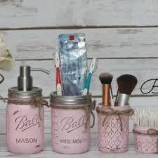 ball mason painted ball mason jar bathroom set 6 piece 49 colors aftcra