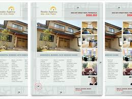real estate brochure templates free 20 free download real estate