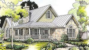 one story cottage plans plan 46000hc hill country classic country porch and house
