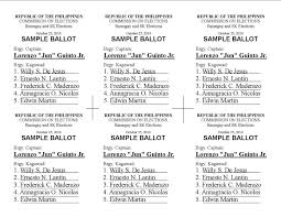 sample election ballot template eliolera com