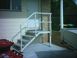 Galvanised Handrail Aluminium Handrails Australia Powder Coated Hand Rail Rail On