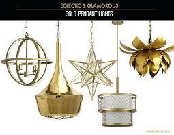 gold pendant light fixtures gold light fixtures original fish com