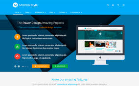 templates blogger material design material style material design for all wrapbootstrap