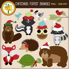 beach jeep clipart christmas forest animals clipart christmas woodland animals