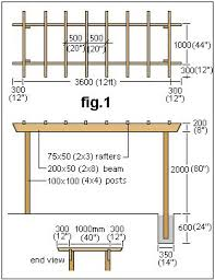 Building Your Own Pergola by Best 25 Pergola Design Plans Ideas On Pinterest Corner Patio